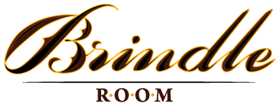 The Brindle Room logo scroll