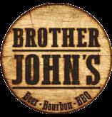 Brother John's Beer Bourbon BBQ logo top