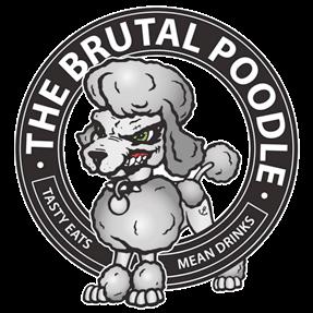 The Brutal Poodle logo top