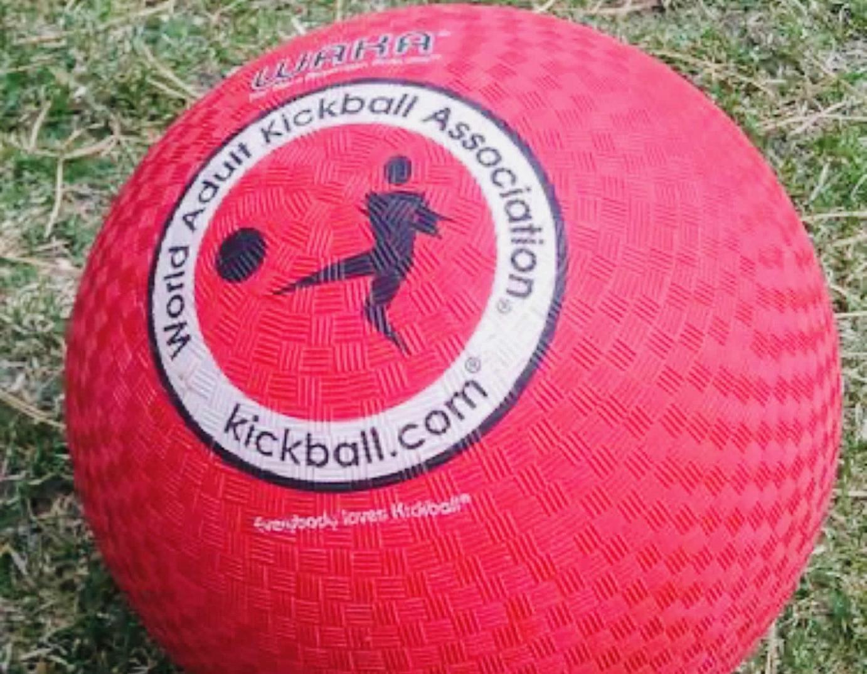 red kick ball