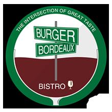 Burger and Bordeaux logo top