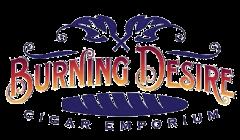 Burning Desire Cigar Emporium logo top