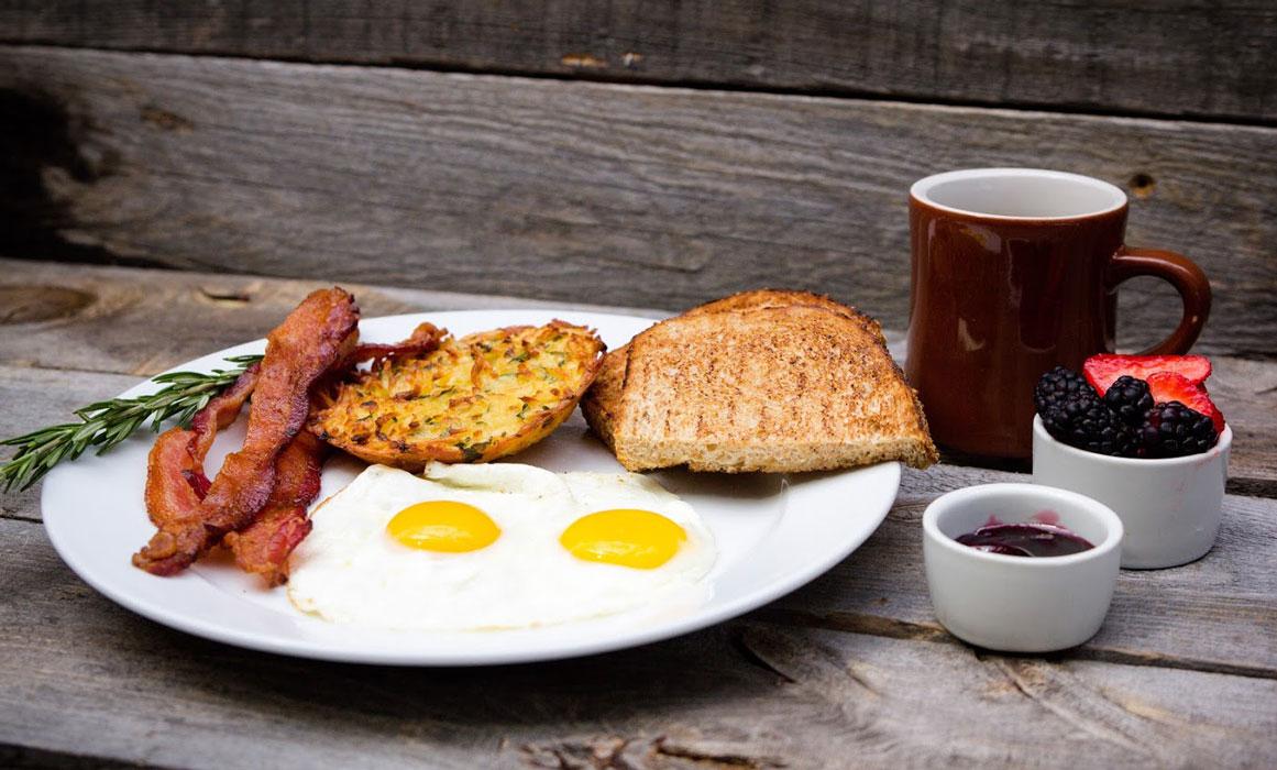 Classic American Breakfast