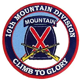 10th mountain division banner