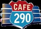 Cafe 290 logo top