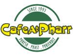 Cafe At Pharr logo scroll