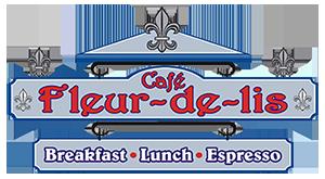 Café Fleur De Lis logo top