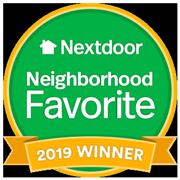 neighborhood favorite 2019 winner badge