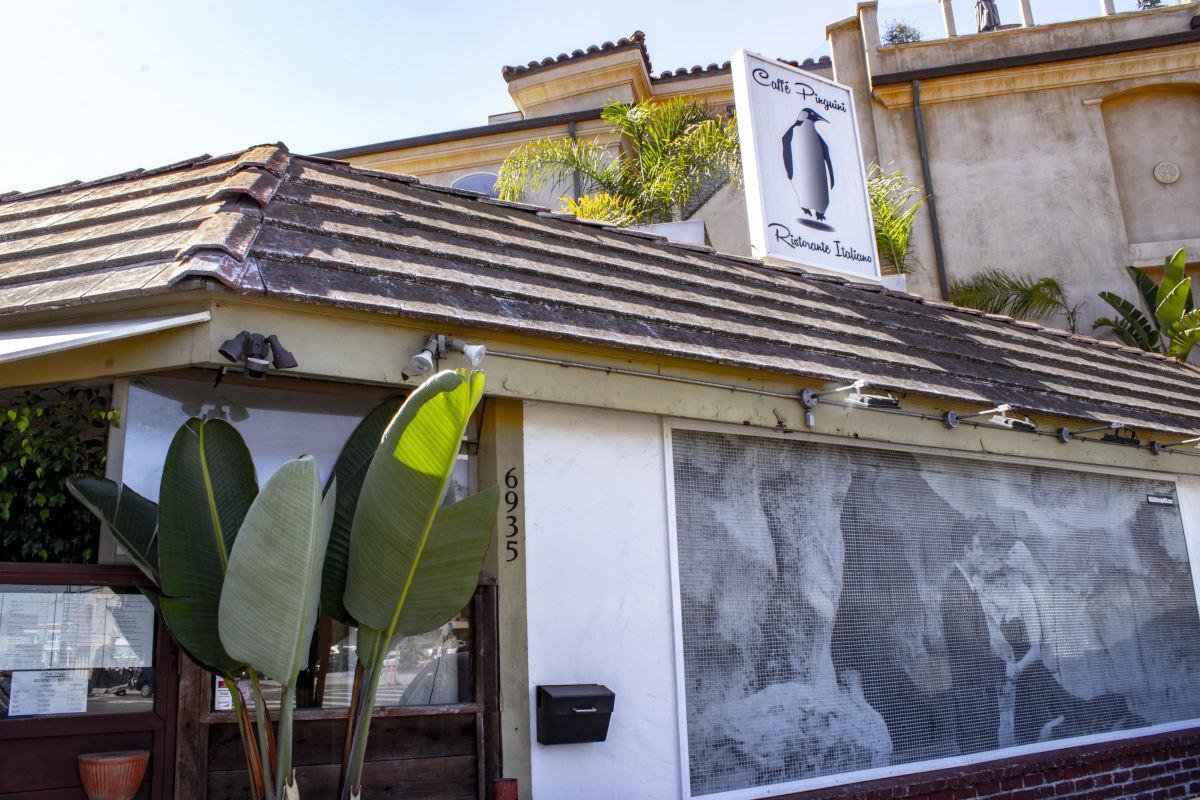 Caffe Pinguini exterior