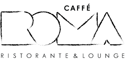 Caffe Roma logo scroll