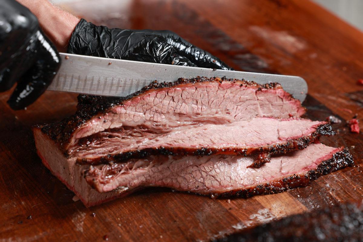 brisket slicing