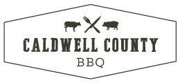 Caldwell County BBQ logo scroll