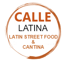 Calle Latina logo scroll