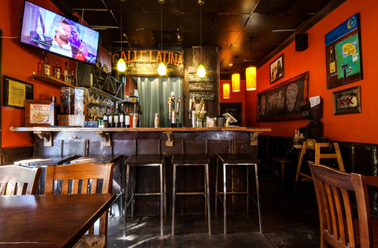 interior, bar, bottles