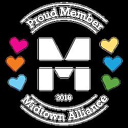 Proud member Midtown alliance logo