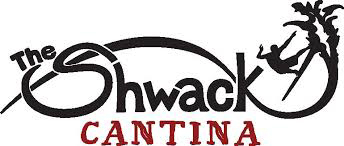 Shwack Cantina logo scroll
