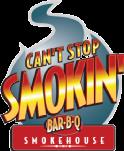 Can't Stop Smokin' logo top