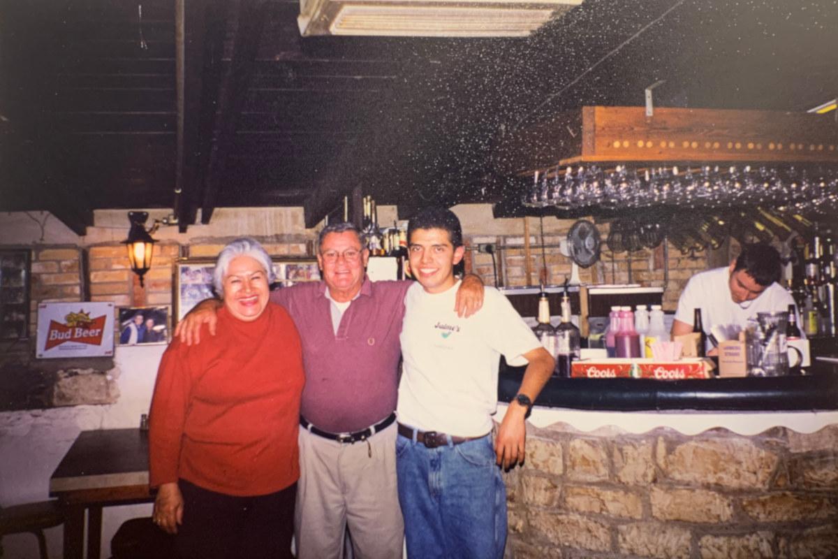Restaurant family owners