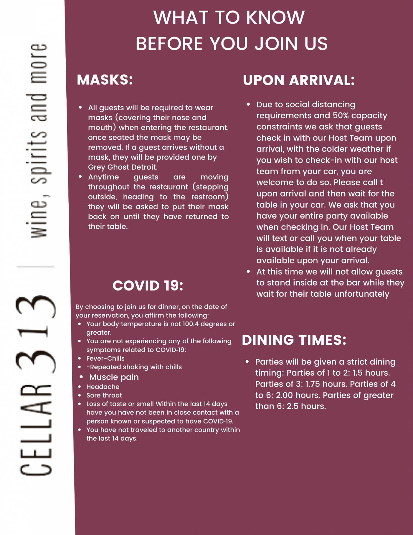 cellar 313 info flyer