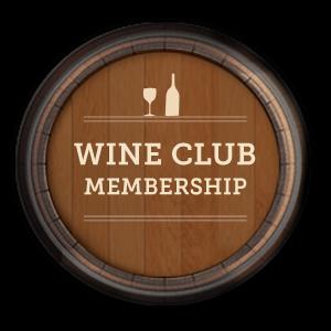 wine club membership decoration logo