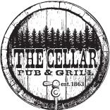 The Cellar Pub & Grill logo top