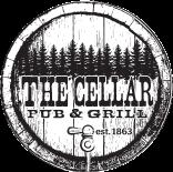 The Cellar Pub & Grill logo top