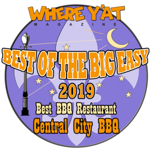 Where y'at  BEst of the Big Easy Best BBQ Restaurant 2019