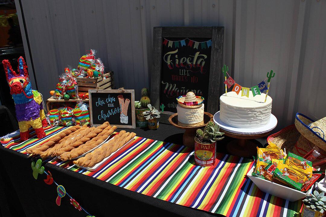 Birthday celebration decorations