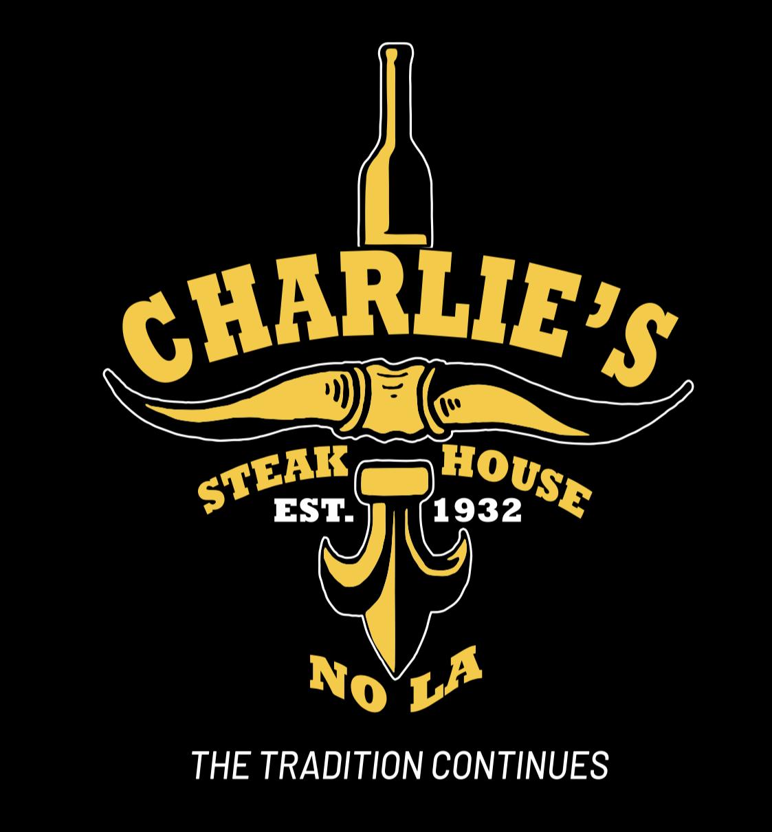 Charlie's Steak House logo