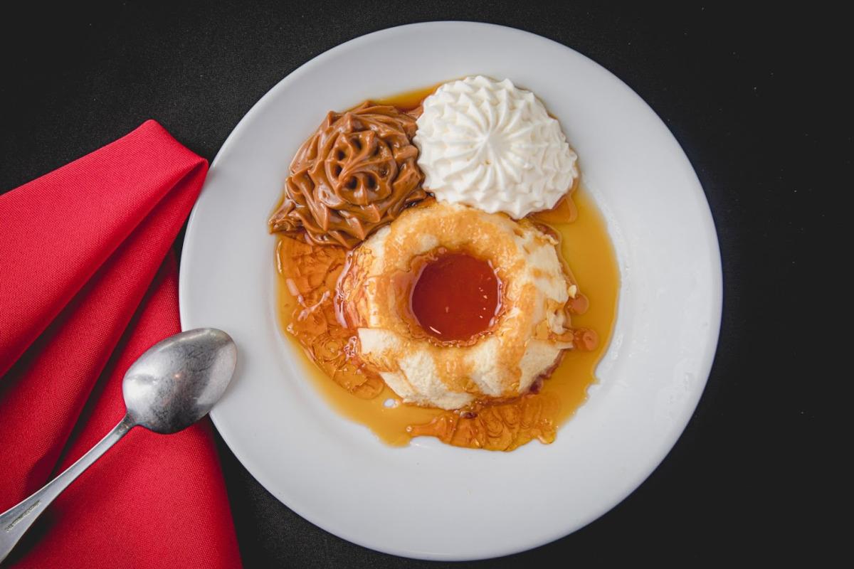 One of restaurant desserts