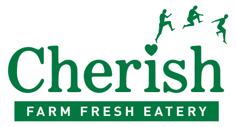 Cherish Farm Fresh Eatery logo scroll