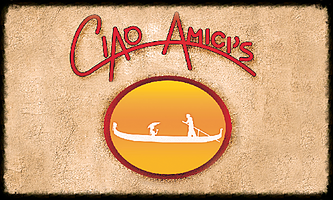 Ciao Amici logo scroll