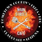 Main Street Cafe logo top