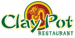 Clay Pot Restaurant logo scroll