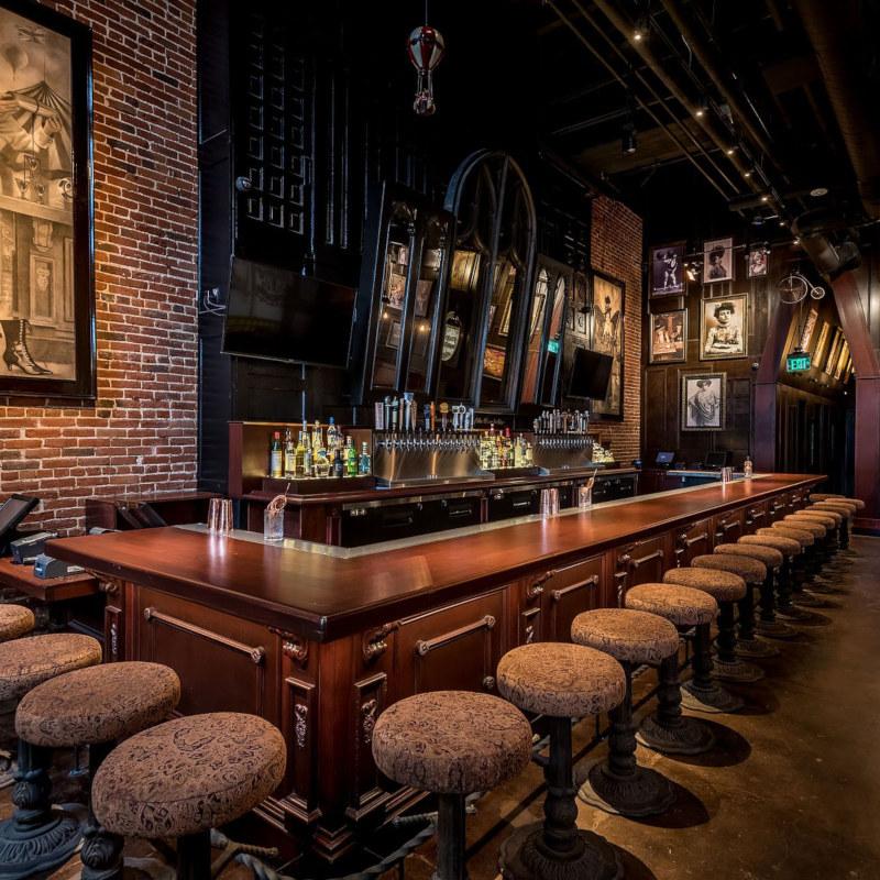 Bar corner, cozy atmosphere