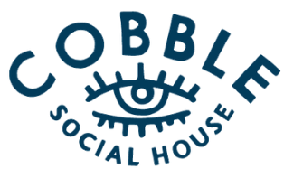 Cobble Social House logo scroll