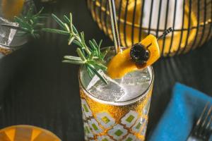 Cocktail closeup