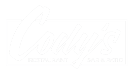 Cody's Restaurant Bar & Patio logo top