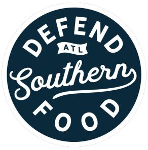defend southern food logo