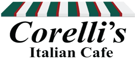 Corelli's Italian Cafe logo top