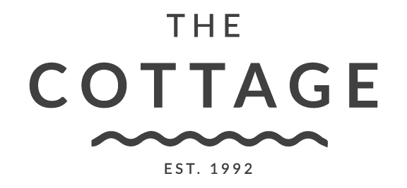 The Cottage La Jolla logo scroll
