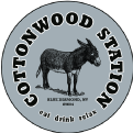 Cottonwood Station Eatery logo top