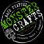 Monster Crafts Food Truck Logo