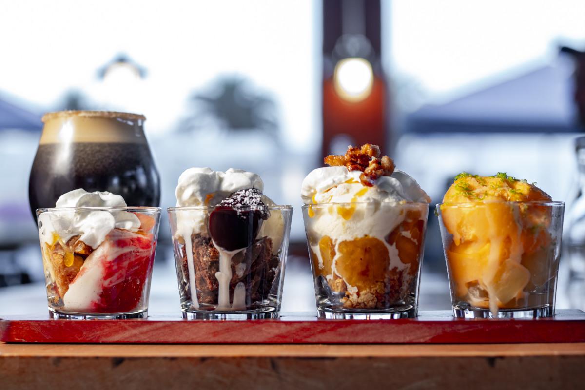 different desserts