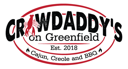 Crawdaddy's on Greenfield logo top