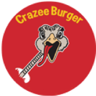 Crazee Burger logo