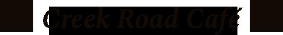 Creek Road Cafe logo top