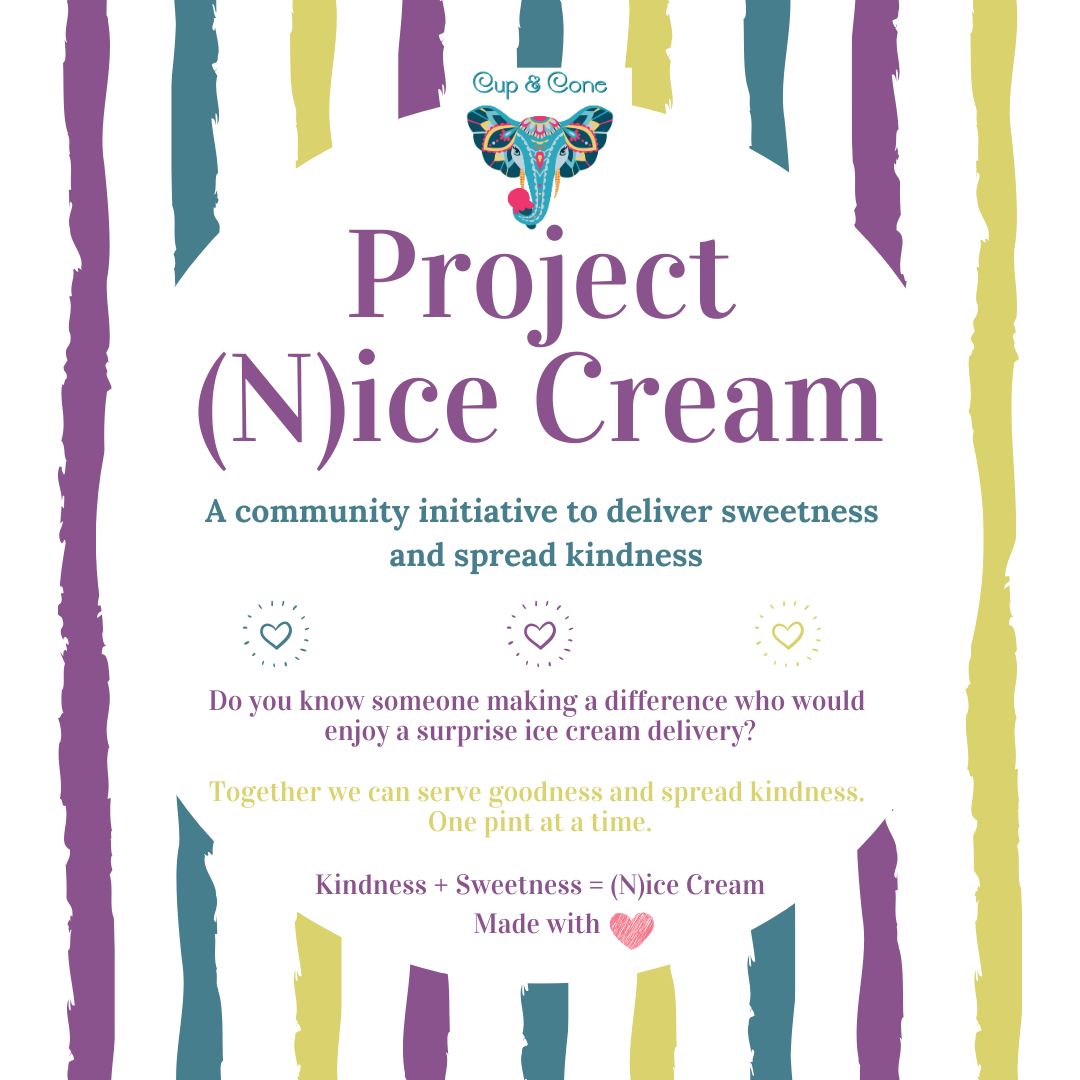 Project (N)ice Cream flyer