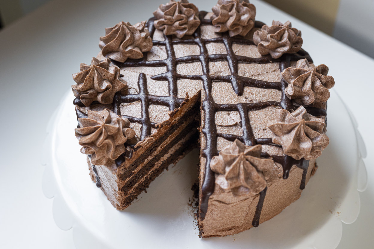 Double Chocolate Cake 1