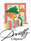 Danielle's Creperie logo top